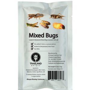 Mélange d'Insectes Comestibles 15gr