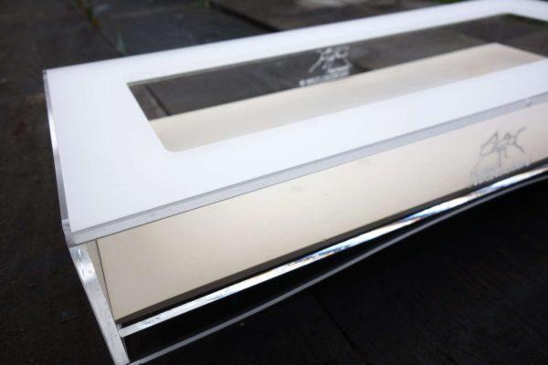 Espace d'Observation 35x15cm + Plaque de propreté Fourmiculture®