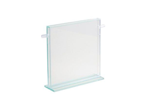 Nid vertical creusable en verre 20x30cm (défauts visibles)