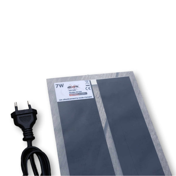 Tapis Chauffant 7w 15x28cm Fourmiculture®