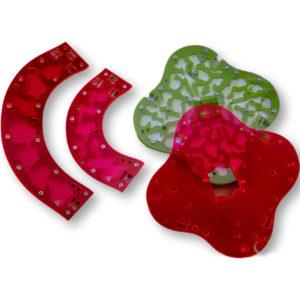 Fourmiculture® Hyperfiltre pour Quadricity – Filtre rouge