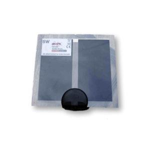 Tapis chauffant 5w 14x15cm Fourmiculture®